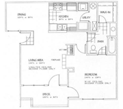 Floorplan-1Bd/1Bath-Tucker Too
