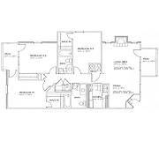 Floorplan-3Bd/2Bath-CarsonToo